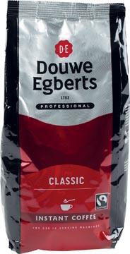 Douwe Egberts instant koffie Classic fairtrade pak van 300 gram