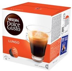 Nescafé Dolce Gusto cups, Lungo, pak van 16 capsules