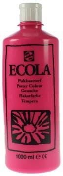 Talens Plakkaatverf Ecola flacon van 1.000 ml tyrisch roze magenta