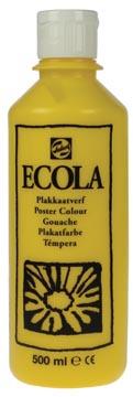 Talens Plakkaatverf Ecola flacon van 500 ml geel