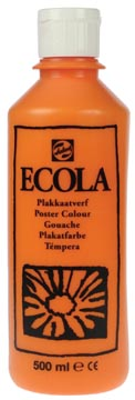 Talens Plakkaatverf Ecola flacon van 500 ml oranje