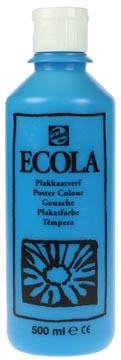 Talens Plakkaatverf Ecola flacon van 500 ml lichtblauw