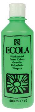 Talens Plakkaatverf Ecola flacon van 500 ml lichtgroen