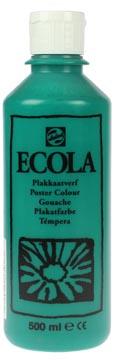 Talens Plakkaatverf Ecola flacon van 500 ml donkergroen