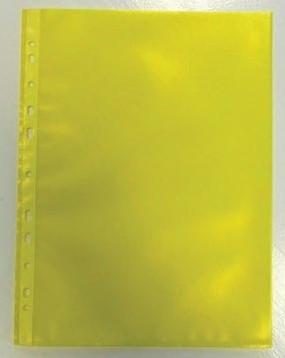 Geperforeerde showtas geel