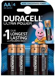 Duracell batterijen Ultra Power AA 4 stuks