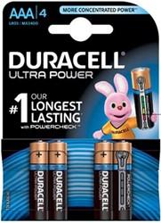 Duracell batterij Ultra Power AAA 4 stuks