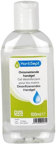 Desinfectie handgel in spuitflacon van 100ml
