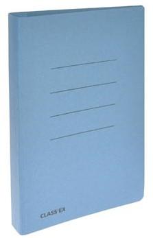Class'ex hechtmap blauw 18,2x23cm schrift