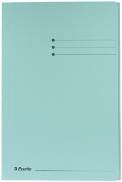 Esselte Manilla dossiermap folio blauw met kleppen