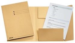 Dossiermap A4 gems met kleppen