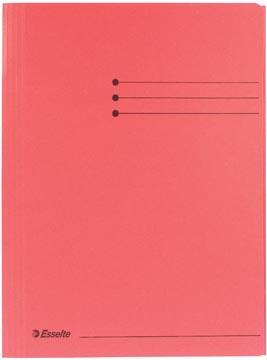 Dossiermap A4 rood met kleppen