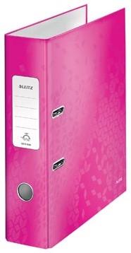 Leitz Ordner Wow roze 8cm rug