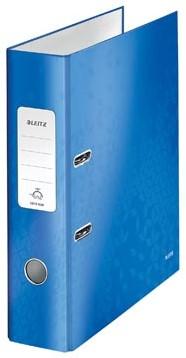 Leitz Ordner Wow blauw 8cm rug