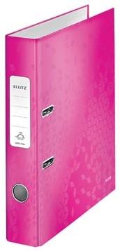 Leitz Ordner Wow roze 5cm rug