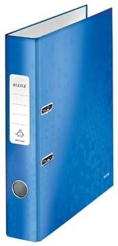 Leitz Ordner Wow blauw 5cm rug