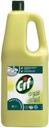 Cif schuurcrème citroen, flacon van 2 liter