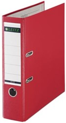 Leitz ordner 1010 kunststof rood 8cm rug