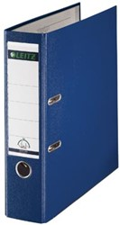 Leitz ordner 1010 kunststof blauw 8cm rug