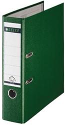 Leitz ordner 1010 kunststof groen 8cm rug