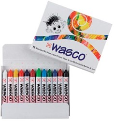 Talens Waskrijt Wasco 12 stuks