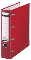 Leitz bankordner 2x A5 dwars rood rug 7,5cm rug
