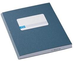 Jalema breedkwarto's 192 bladzijden, blauw