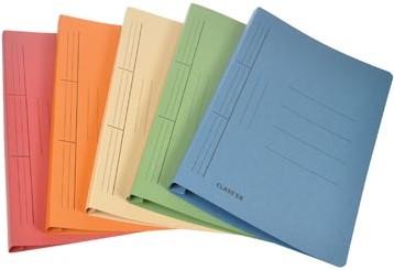 Class'ex hechtmap geassorteerde kleuren 25x34,7cm folio