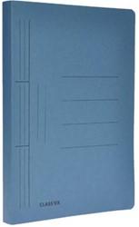 Class'ex hechtmap blauw 25x34,7cm folio