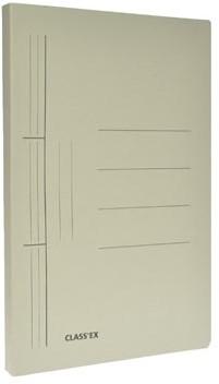 Class'ex hechtmap grijs 25x34,7cm folio