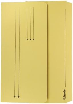 Pocketmap folio geel