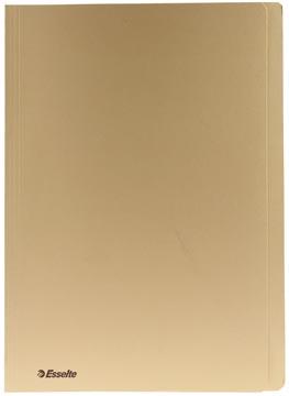 Dossiermap karton A4 geel