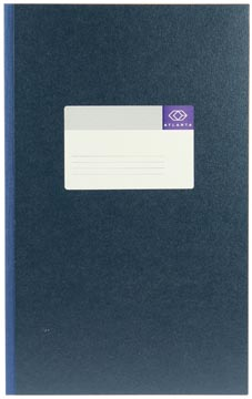 Jalema breedfolio's 192 bladzijden, blauw