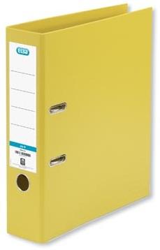 Ordner Elba Smart Pro+ geel rug van 8 cm