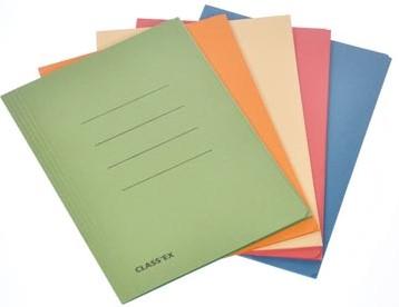 Dossiermappen A4 geassorteerde kleuren ds/50