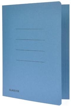 Stofklepmap A4 blauw ds/50