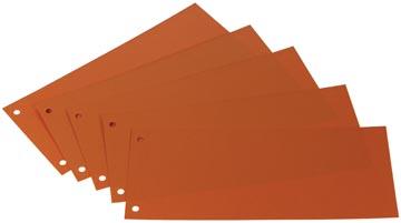 Scheidingsstroken Class'ex oranje 100 stuks