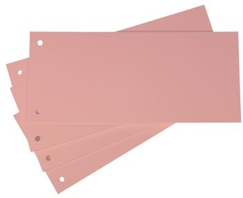 Scheidingsstroken Class'ex roze 100 stuks