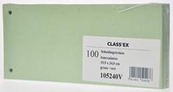 Scheidingsstroken Class'ex groen 100 stuks
