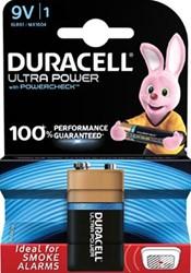 Duracell batterij Ultra Power 9V 1 stuks