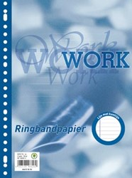Oxford Work ringbandinterieur A4 23 gaten met kantlijn