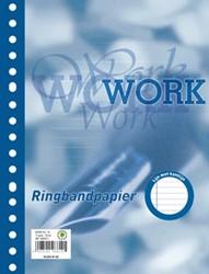 Oxford Work ringbandinterieur A5 17 gaten met kantlijn