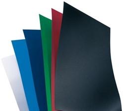 GBC schutblad A4 uit plastic blauw 300 micron pak van 100 stuks