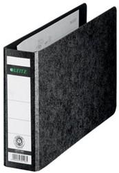 Leitz bankordner 2x A5 dwars zwart rug 5,6cm rug