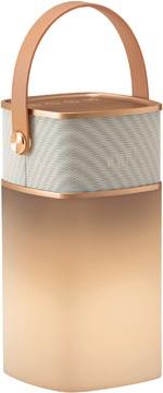 Hansa bureaulamp, LED 4 music, LED-lamp, goud