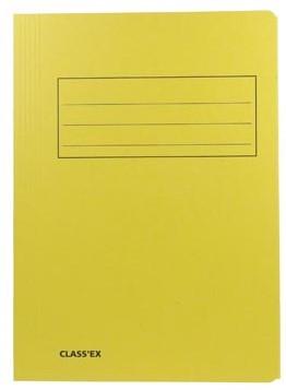 Dossiermap folio geel
