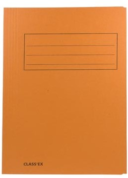 Dossiermap folio oranje ds/50