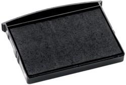Colop stempelkussen zwart, voor stempels 2400, 2460, 2600 en 2660, blister van 2 stuks