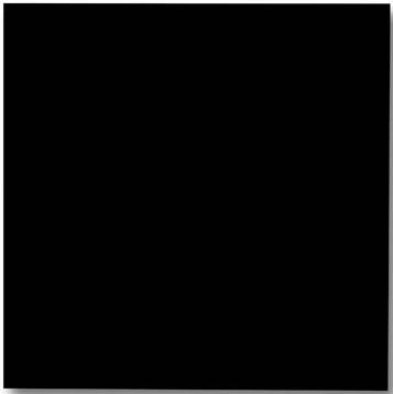 Naga magnetisch glasbord zwart 100 x 100cm