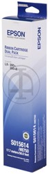 C13S015614 EPSON LX300 FBK (2)  NYL SCHW 2x4mil signs nylon